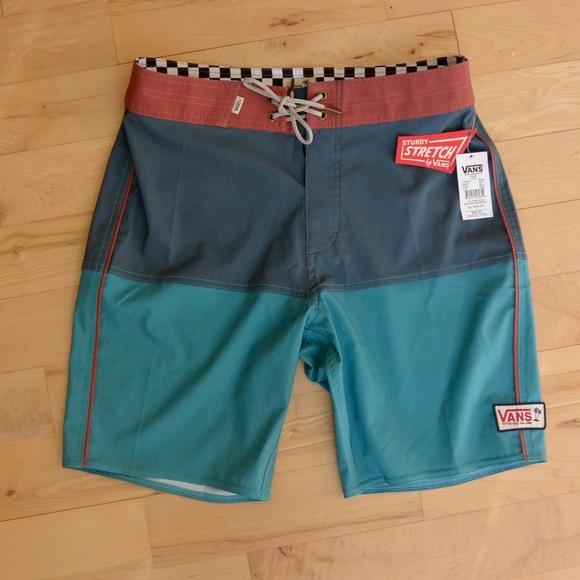 9130380504ac6 Vans Swim | Nwt Mens Surf Shorts Bathing Suit Sz 30 | Poshmark